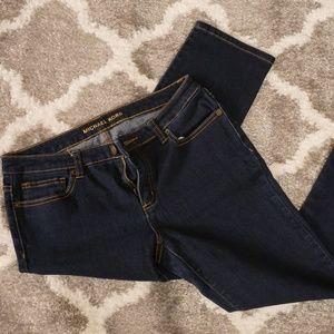 Micheal Kors Dark Wash Stretchy Jeans